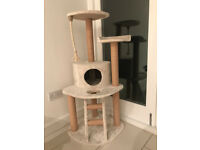 Cat Tree 120cm - Barely used, RRP £70