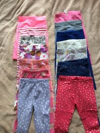 Girls clothes, leggins size 1,5-2 years