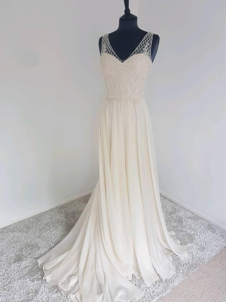 Catherine Deane Silk chiffon wedding dress | in Gateshead, Tyne and ...