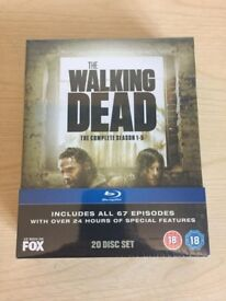 The Walking Dead S1-5 Blu-Ray Boxset New & Sealed