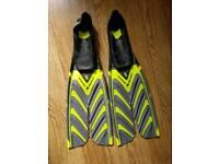 ScubaPro twin speed fins