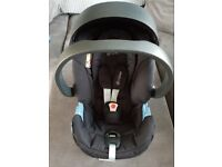 Cybex ATON carseat/isofix and 2 adapters