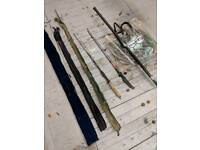 Fishing match rods