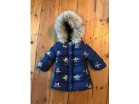 a0c4006d57 Baby Gap girls coat 12-18 months