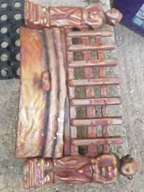 Antique fireguard