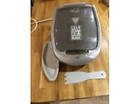 George Forman lean mean fat reducing grilling machine
