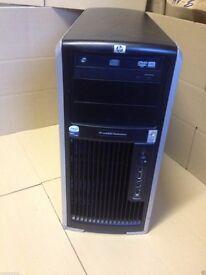 HP XW8400 Xeon 3ghz 4gb 320gb windows7 Tower PC Server/Workstation