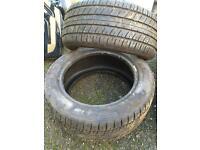 "Job lot of 15"" tyres"