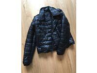 Alexander wang x H&M black leather jacket XS