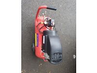 FoxHunter Electric Air Compresser 50 Litre 2.5HP With Wheels Nearly New