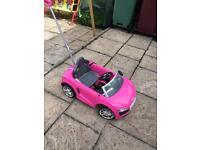 Pink Audi cat