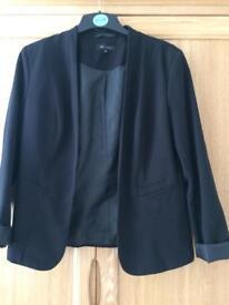 Black Ladies New Look Jacket Size 12