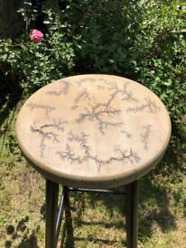 Designer Stool - Unique One Of A Kind!