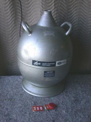 Union Carbide Linde Liquid Nitrogen Dewar Cryogenic Tank Ld-25