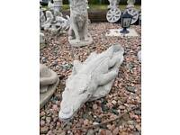 Large Crocodile Garden Ornament