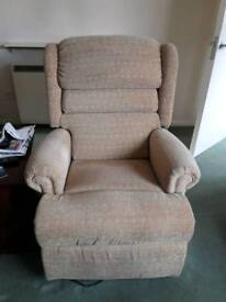 Two Recliner chair motorised