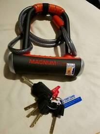 Magnum plus bike lock cost £70 new