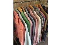 Selection of men's shirts (11 in total) ideal for office wear or lads night out!