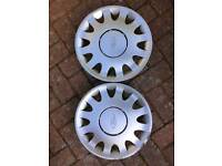 "Ford Mondeo pair of wheel trims 15"" diameter"