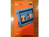 BRAND NEW - Amazon Fire 7 kids edition tablet with yellow kid proof case