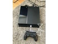 500GB PS4 Console + Controller + Wires