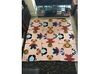 Kids Rug Puzzle Teddy Bear 150x150cm