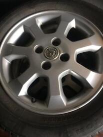 Vauxhall meriva corsa Astra alloys