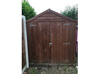 Garden Shed. 8ft x 6ft. VERY CHEAP!