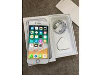 APPLE IPHONE 7 WHITE&SILVER 128GB UNLOCKED GOOD CONDITION