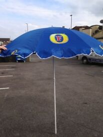 FOSTERS LAGER 1.8 MTR PARASOL