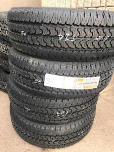 FOUR NEW LT 275 / 65 R20 FIRESTONE TRANSFORCE AT2 TIRES -- CLEARANCE