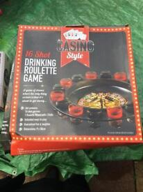 Casino style drinking game