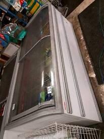 AHT sliding top freezer