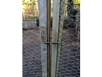 Chicken, Duck Run / Coop - Fox Proof 4m by 4m (16 foot Square)