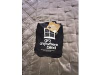 Blackout blind by gro. Portable blind! Gro anywhere blind. Good condition.