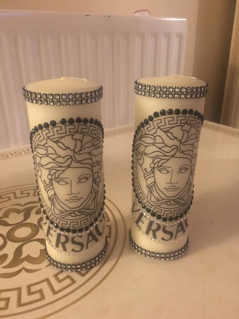Versace, Chanel candles