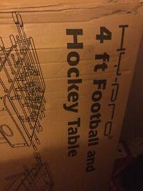 Air hockey / football table
