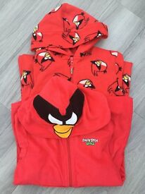 Two Angry Bird Onesies