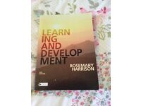 Learning and Development by Rosemary Harrison (Academic Book)