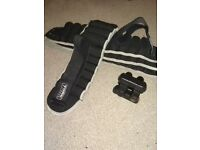 4 X 5KG YORK industrial strength ANKLE/WRIST WEIGHTS
