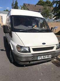 Transit van spares or repairs