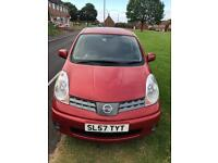 ** NISSAN NOTE **