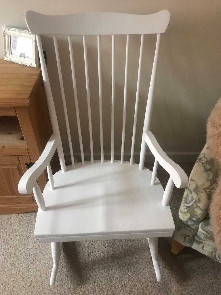 Astounding Beautiful Rocking Chair In Leicester Leicestershire Gumtree Squirreltailoven Fun Painted Chair Ideas Images Squirreltailovenorg