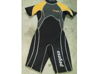 Small ladies / girls short wetsuit