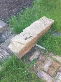 20 Large stone slabs