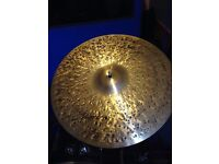 "20"" Murat Diril Superior Velvet Ride Cymbal"