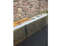 Steel lintel 210 cm