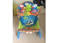 Fisher Price Baby To Toddler Rocker/Vibrating chair