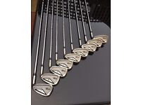 Lynx Black Cat Golf Clubs, Steel Shafts, 3-SW, 9 Clubs.