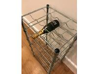 Wine rack for 24 bottles of champagne wine or beer!